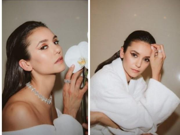 Фото №1 - Как сделать макияж с медными стрелками: показывает Нина Добрев