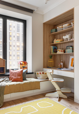 Фото №8 - Уютная светлая квартира 76 м² для молодой семьи с ребенком
