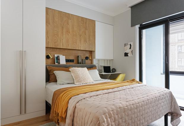 Фото №5 - Уютная светлая квартира 76 м² для молодой семьи с ребенком