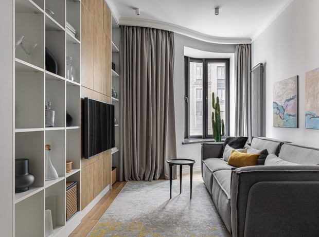 Фото №4 - Уютная светлая квартира 76 м² для молодой семьи с ребенком